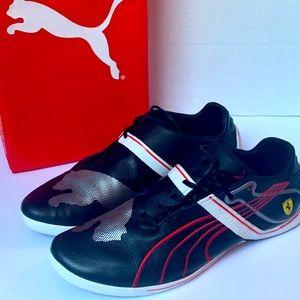 Puma Ferrari, black 325/45R13 RA 92 Size Us 9.5